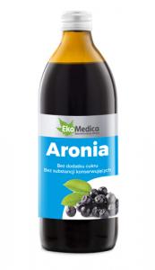 EkaMedica Aronia 100% Sok płyn 500ml