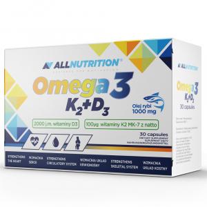 Allnutrition Omega 3 K2+D3 kaps. 30kaps.