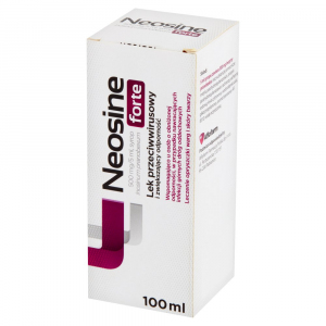 Neosine Forte syrop 0,5 g/5ml 100 ml
