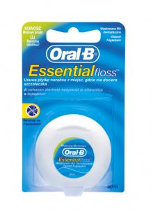 Oral-B nić dent. Essential flos mięt-wosk