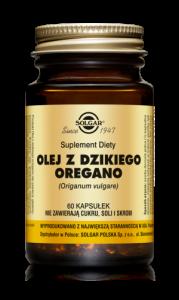 SOLGAR Olej z dzikiego oregano x 60 kaps.