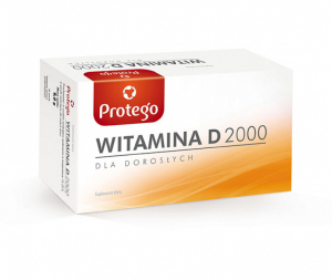 PROTEGO WITAMINA D 2000 x 120 kaps.