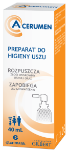 A-CERUMEN Spray prep.d/hig.uszu płyn 40ml