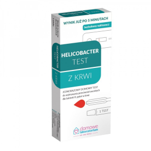 Test do wykrywania Helicobacter z krwi 1 szt.