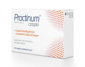 Proctinum czopki 10 czop.