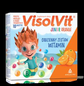 Visolvit Junior Orange x 10 saszetek