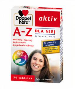 Doppelherz aktiv A-Z Dla Niej tabl. 30tabl