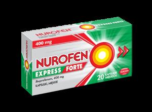 Nurofen Express Forte x 20 kaps.