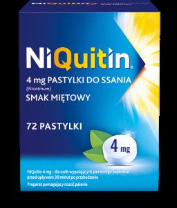 Niquitin pastyl.do ssania 4 mg 72 szt.