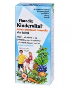 Floradix Kindervital Nowa Owoc. Form.250