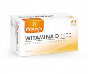 Protego Witamina D 1000 x 60 kaps.elast.