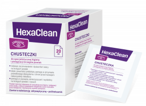 HexaClean Chust. 20 szt.