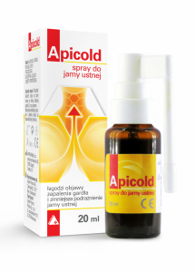 Apicold spray do j.ustnej 20 ml