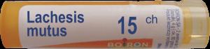Boiron Lachesis Mutus 15CH