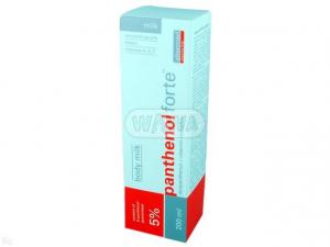 Panthenol Forte mleczko 7% - 200ml