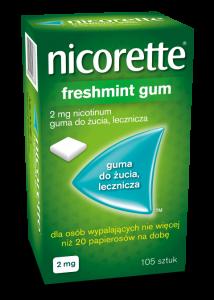 Nicorette Freshmint Guma 2mg x 105