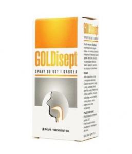 GOLDisept spray do ust i gardła 25 ml