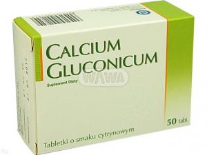 Calcium gluconicum 500mg x 50 tabl.
