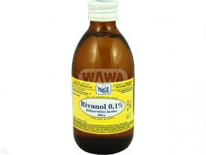Rivanol 0,1% rozt. 1 mg/1g 250g