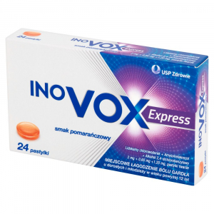 Inovox Express smak pomarańczowy pasty 24
