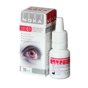 ZUMA NOKA 0,1 nawilżające krople do oczu 10 ml