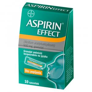 Aspirin Effect granulat 500mg x 10 sasz.