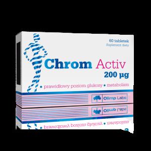 OLIMP Chrom Activ 200 mcg tabl. 0,2mg 60ta