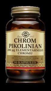 SOLGAR Chrom pikolinian kaps. 0,2mg 90kaps