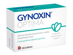 Gynoxin Optima 200mg - 3 kapsułki