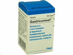 Heel Gastricumel x 50 tabl.(zgaga,wzdęcia)