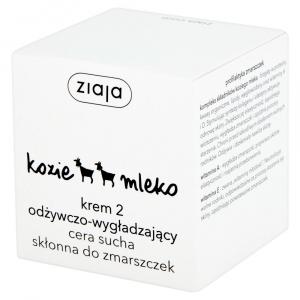 ZIAJA KOZIE MLEKO Krem 2 odżyw. 50 ml