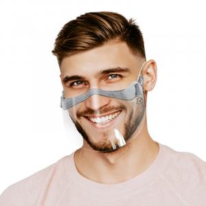 Przyłbica do okularów wycięta