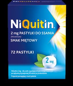 Niquitin pastyl.do ssania 2 mg 72 szt.