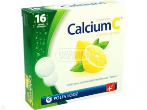 Calcium C cytrynowe x 16 tabl.mus.