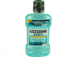LISTERINE ZERO Płyn d/pł. mild mint 250ml