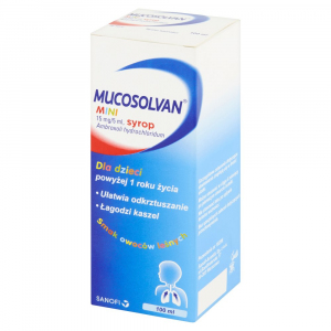 Mucosolvan mini syrop 15mg/5ml 100ml