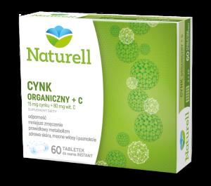 NATURELL Cynk organiczny +C tabl.doss.x 60