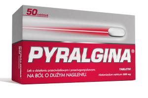 Pyralgina tabl. 0,5 g 50 tabl.