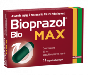 Bioprazol Bio Max 20mg x 14 kaps