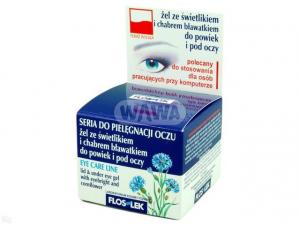 Flos-lek żel świetlik z chabrem 10g