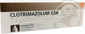 Clotrimazolum krem 1% 20g
