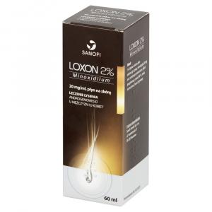 Loxon 2% płyn p/łysieniu 60ml