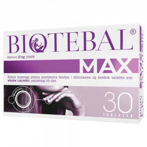 Biotebal Max 10mg x 30tabl.