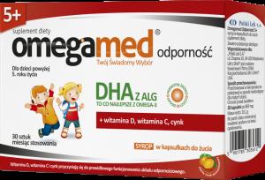 Omegamed Odporność 5+ Syrop w kapsułkach30