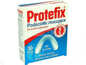 Protefix podściółki do żuchwy x 30 i 12szt