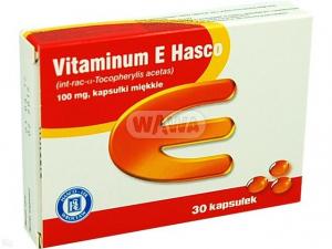 Vitaminum E Hasco 100mg x 30 kaps.