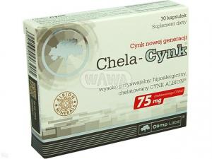 Olimp Chela-Cynk x 30 kaps.