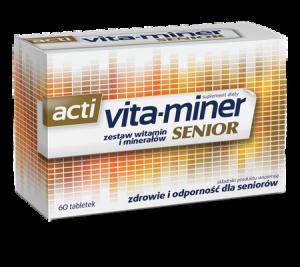 Vita-miner Senior x 60 draż.