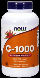 Vitamin C-1000 x 250 tabl NOW