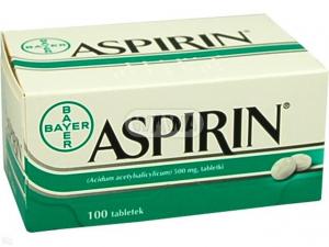 Aspirin tabl. 0,5 g 100 tabl. Inpharm